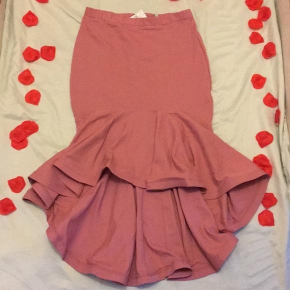 Dresses & Skirts - Mermaid 🧜♀️ skirt 😍💖 blush pink